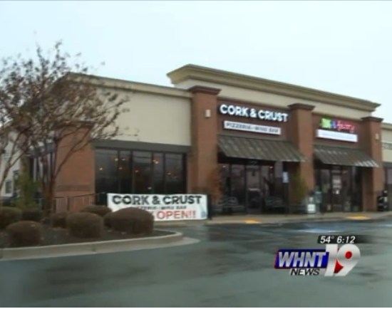 WHNT 19: Grand opening of Cork & Crust restaurant in Madison